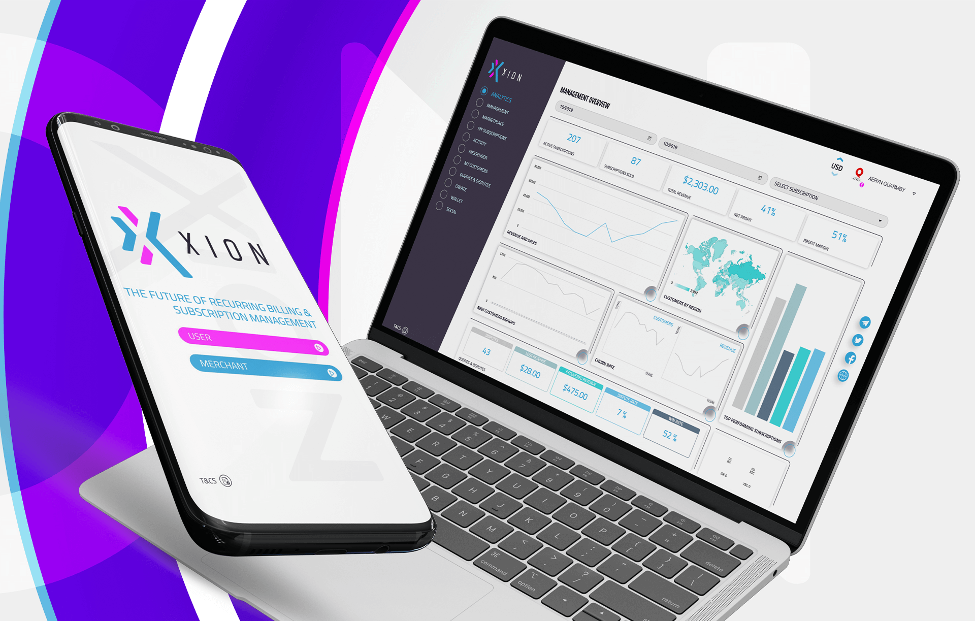 Xion-subscription-as-a-service-platform