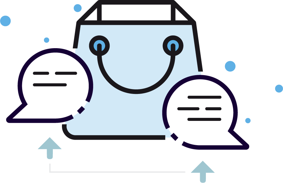Built-in messenger on merchant dashboard - Xion Global