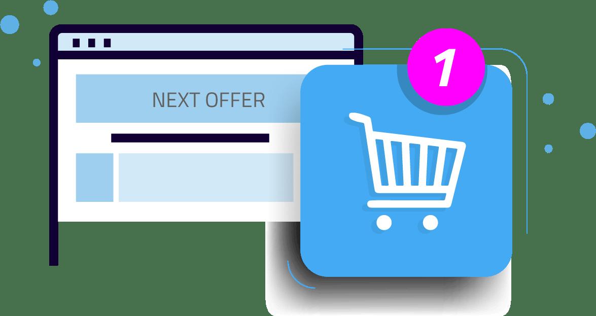 Shopping cart notification Xion Global
