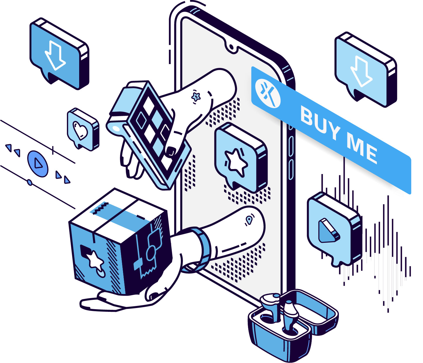 sell digital goods and services on any platform Xion Global