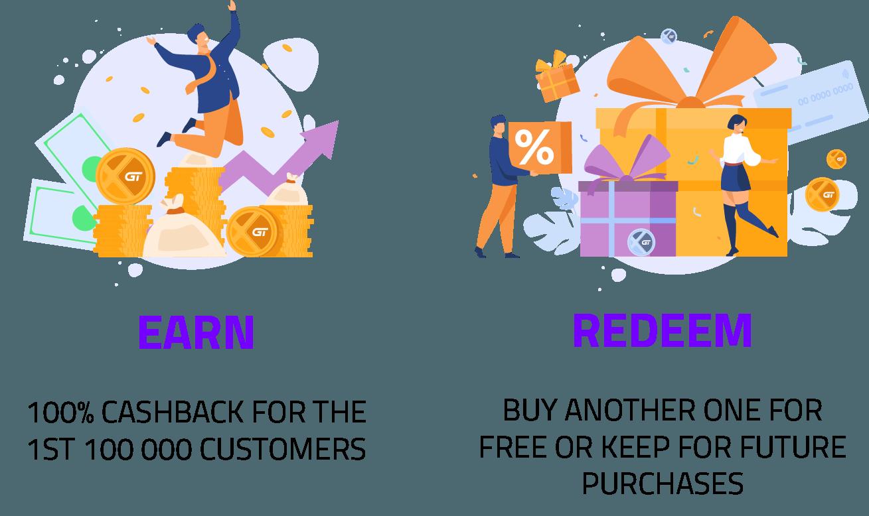 Earn and redeem - Rewarded program -Xion Global